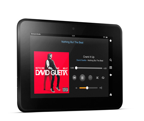 Kindle Fire HD Tablet Test