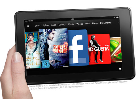 Kindle Fire Tablet Test