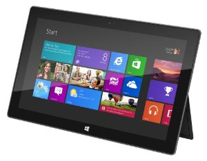 Microsoft Surface Tablet Test